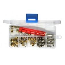 Клапаны для кондиционера с ключом (набор 41пр.)