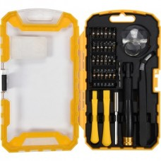 Отвёртка + биты для ремонта сотовых телефонов (набор 32пр.)