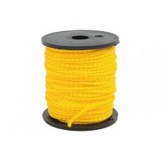 Шнур каменщика желтый 50м