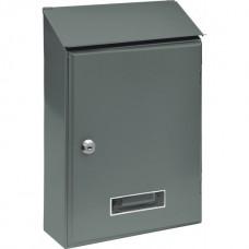 Ящик металлический почтовый 360х230х90мм серый