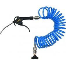 Пневмопистолет для продувки в наборе со шлангом и коннекторами