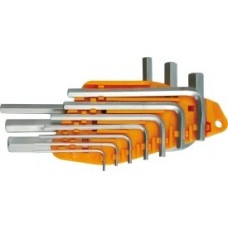Ключи шестигранные 1,5-10мм (набор 10шт.)