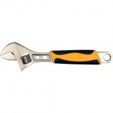 Ключ разводной с обрезиненой ручкой 200мм