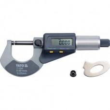 Микрометр с цифровым индикатором 0-25мм