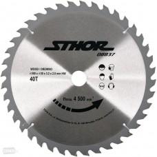 Диск пильный с напаянными зубцами из твердых сплавов 300/30 40T