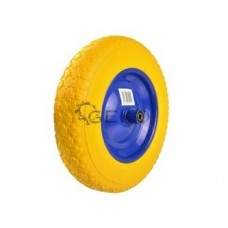 Колесо сменное к тачке 3.50-8 сплошная полиуретановая шина