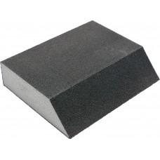 Губка шлифовальная 4-сторонняя угловая  P80