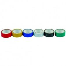 Изолента ПВХ 19мм х 3м х 0,13мм разноцветная (6шт)
