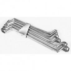 Ключи накидные изогнутые 6-17мм (набор 6шт)