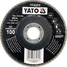 Круг лепестковый 125мм Р100