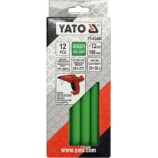 Стержни для термопистолета 7,2х100мм зеленые (12шт)