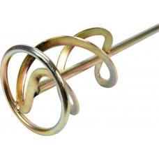 Миксер для строительных масс (двойная спираль) SDS+ 120х600мм