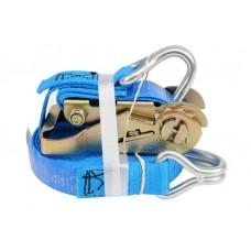 Лента для крепления багажа с трещоткой  500daN 25ммх5м (2шт.)