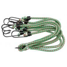 Стяжка резиновая в оплетке для багажа d8ммх80см. (8 крючков)