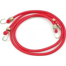 Стяжка резиновая в оплетке для багажа d12ммх120см. (2шт.)