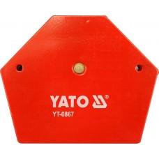Струбцина магнитная для сварки 111х136х24мм (34.0кг)