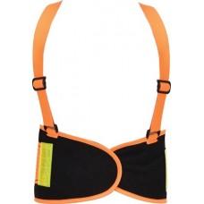 Пояс поддерживающий для строителей оранжевый XL