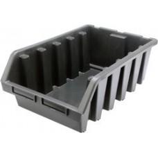 Ящик складской пластмассовый 170х240х126мм M