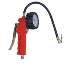 Пневмопистолет с манометром для подкачки колёс