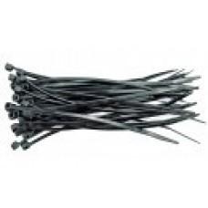 Хомут пластмассовый черный  80х2,5мм (100шт)