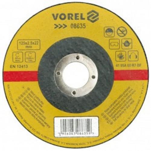 Круг отрезной по металлу 125х1,0х22мм