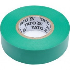 Изолента ПВХ зеленая 19мм х 20м х 0,13мм