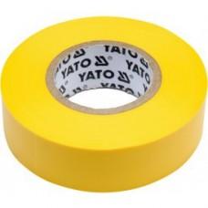 Изолента ПВХ желтая 19мм х 20м х 0,13мм