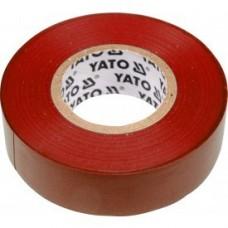 Изолента ПВХ красная 19мм х 20м х 0,13мм