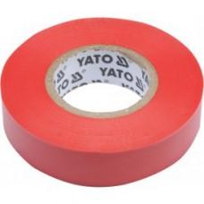 Изолента ПВХ красная 15мм х 20м х 0,13мм