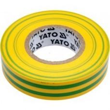 Изолента ПВХ желто-зеленая 15мм х 20м х 0,13мм