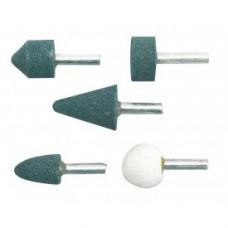Шарошки абразивные для обработки металла, древесины и пластика (набор 5шт)