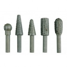 Шарошки металлические для обработки металла и древесины (набор 5шт)