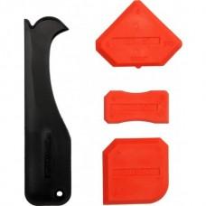 Шпатели пластмассовые для силикона (набор 4шт)