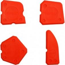 Шпатели пластмассовые для силикона (4шт)