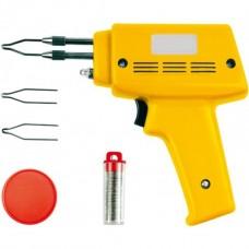 Электропаяльник импульсный в наборе (230V, 100W)