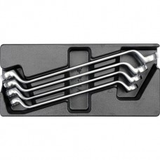Ключи накидные 21х32мм в футляре (набор 4шт)