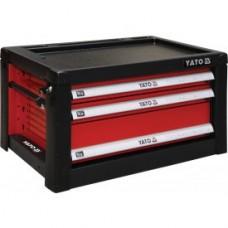 Ящик инструментальный c 3 шуфлядами 690х465х400мм