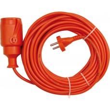 Удлинитель электрический садовый оранжевый 20м 1 розетка