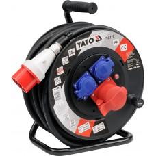 Удлинитель электрический H07RN-F 5G2.5мм. на катушке 25м 3 розетки