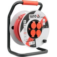 Удлинитель электрический H05RR-F 3G2.5мм. на катушке 30м 4 розетки