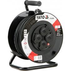 Удлинитель электрический H05RR-F 3G1.5мм. на катушке 30м 4 розетки