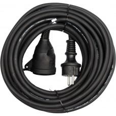 Удлинитель электрический H05RR-F 3G1.5мм., 30м 1 розетка