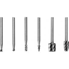 Шарошки металлические для обработки металла (набор 6шт)