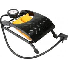 Насос с манометром ножной автомобильный