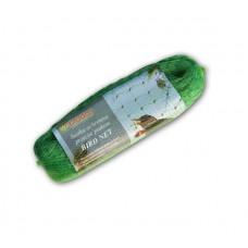Сетка плетеная для защиты от птиц BIRD NET 8х8м., HDPE пластик, ячейка 19х19мм.