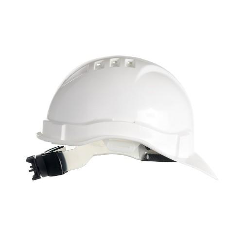 Каска защитная ЕВРОПЛАСТ-ЛЮКС (белая)