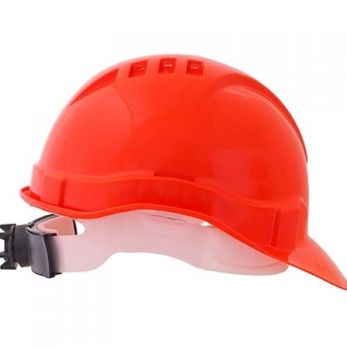 Каска защитная ЕВРОПЛАСТ-ЛЮКС (оранжевая)