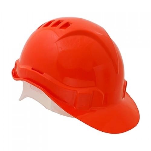 Каска защитная ЕВРОПА (оранжевая)