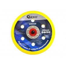Диск с липучкой на пневмошлифмашинку 150 мм., 6 отверстий