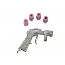 Пескоструйный пистолет с 4 соплами